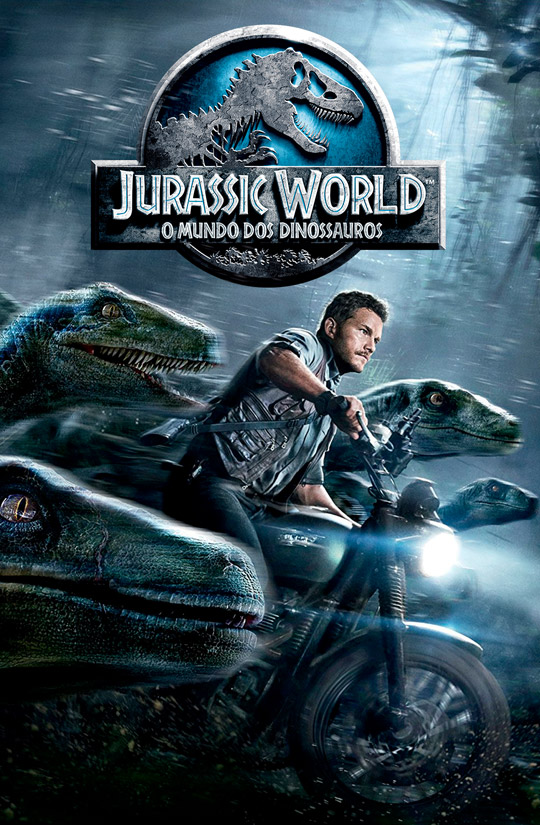 Jurassic World - O Mundo dos Dinossauros Cover Art