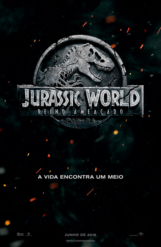 Jurassic World: Reino Ameaçado Cover Art